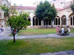 This Spanish courtyard kind of reminds you of the Hogwarts courtyards, no? http://oi43.tinypic.com/1e9nyp.jpg