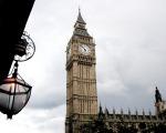 Cool shot of Big Ben.