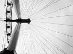 Sweet shot of the London Eye.